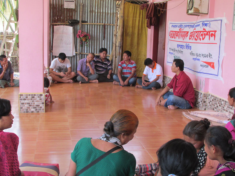 Advocacy session with CBO members